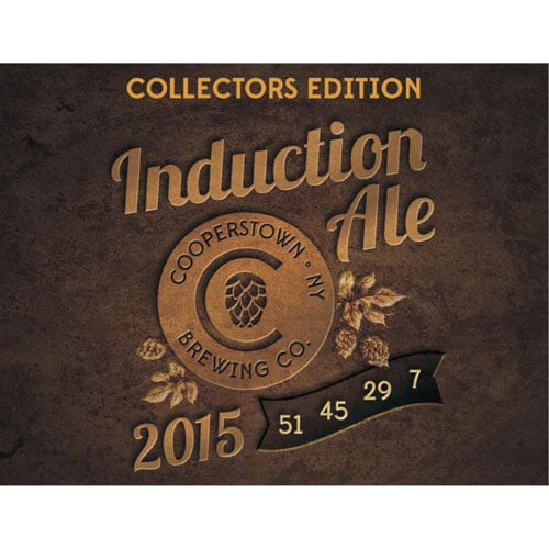 Cooperstown Brewing Co. – Induction Ale, 2015