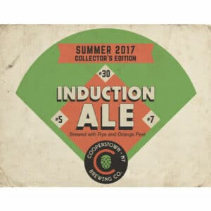 Cooperstown Brewing Co. – Induction Ale, 2017