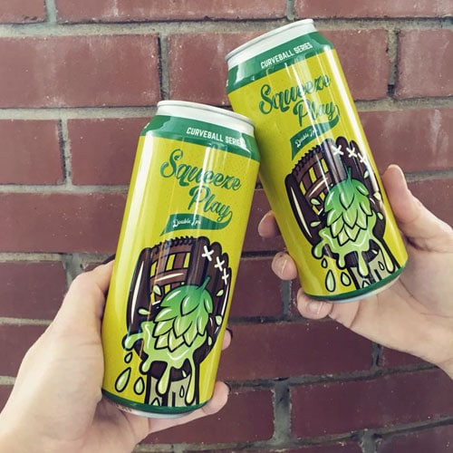 Cooperstown Brewing Co. – Squeeze Play Double IPA
