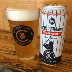 Cooperstown Brewing Co. – World Champs 20th Anniversary