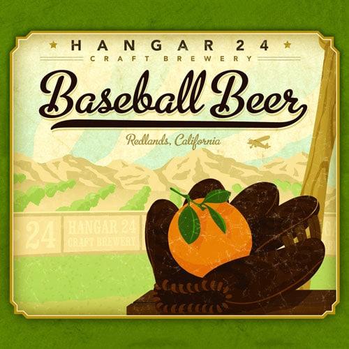 Baseball Beer - Hangar 24 Craft Brewery