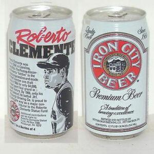 Roberto Clemente - Iron City Beer