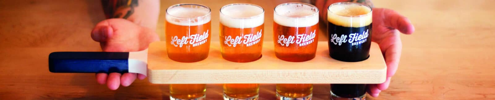 Beers by Left Field Brewery