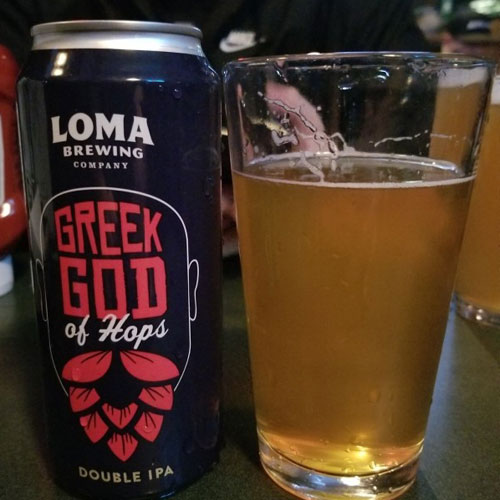 Greek God of Hops - Loma Brewing Company