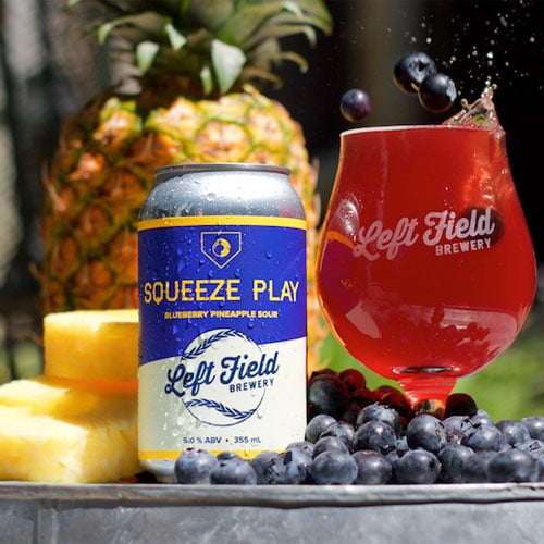Squeeze Play Blueberry Pineapple - Left Field Brewery