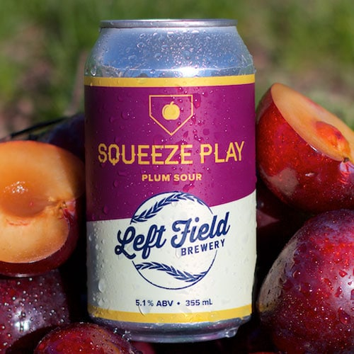 Squeeze Play Plum - Left Field Brewery