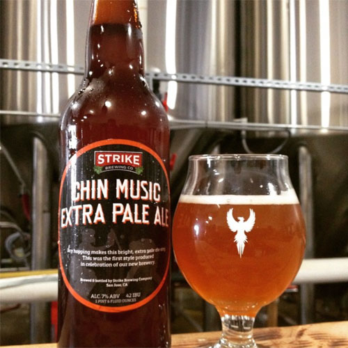 Chin Music - Strike Brewing Co.