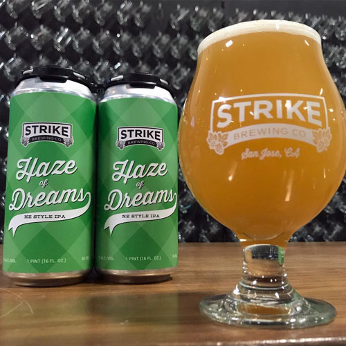Haze of Dreams - Strike Brewing Co.