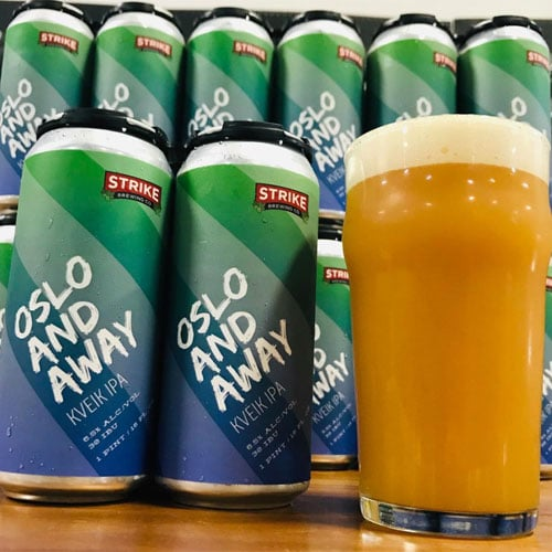 Oslo and Away - Strike Brewing Co.