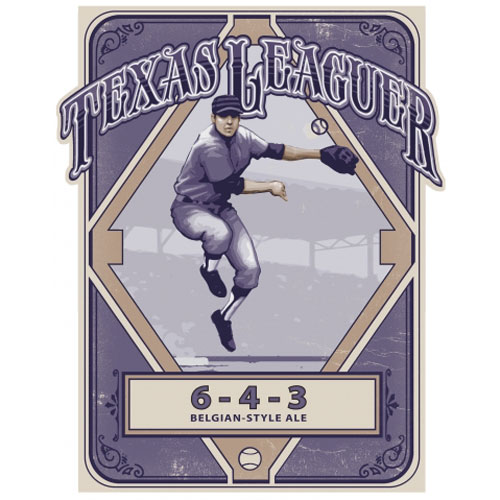 6-4-3 Belgian Style Ale – Texas Leaguer Brewing