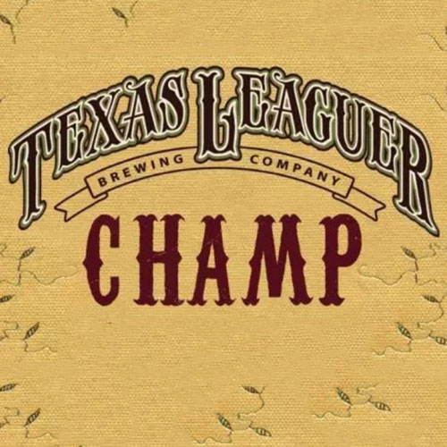 Champ – Texas Leaguer Brewing
