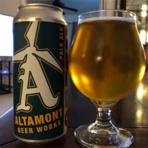 Green Collar Pale Ale - Altamont Beer Works