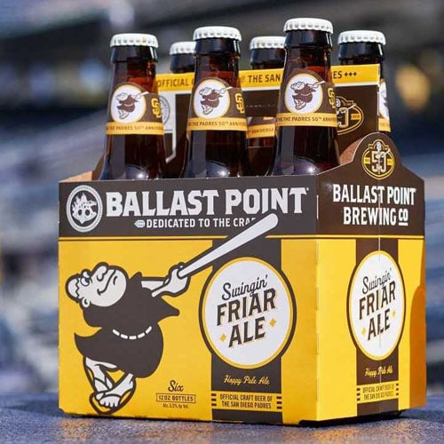 Swingin' Friar Ale - Ballast Point Brewing