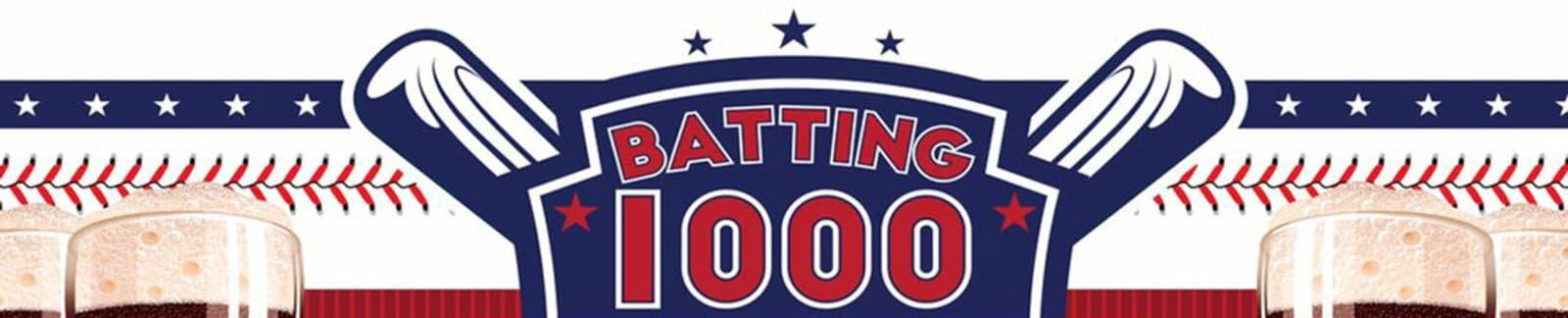 Batting 1000 Red Lager header