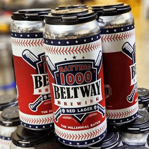 Batting 1000 Red Lager – Beltway Brewing