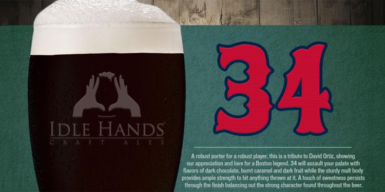 Idle Hands – David Ortiz 34 Banner