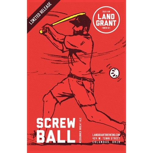 Screwball Midsummer Wheat Ale – Land Grant Brew Co