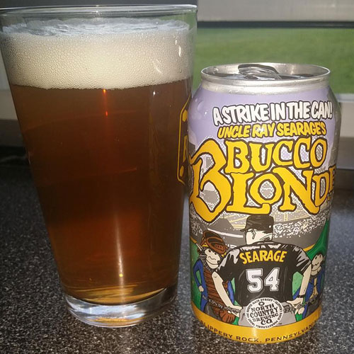 Uncle Ray Searage's Bucco Blonde Ale – North Country Brewing