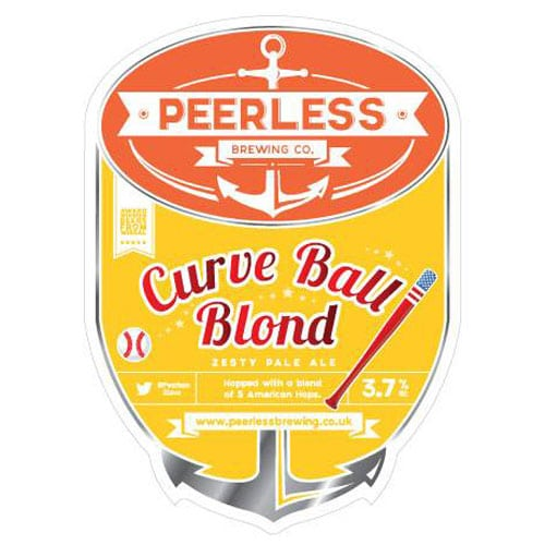 Curve Ball Blond – Peerless Brewing Company