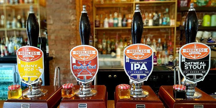 Peerless Brewing Company inside
