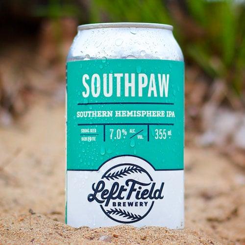 Southpaw Southern Hemisphere IPA – Left Field Brewery
