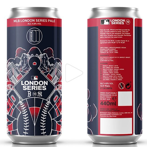 MLB London Series Pale Ale Cans – Mondo Brewing