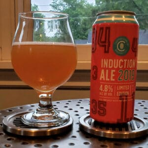 Induction Ale, 2019 – Cooperstown Brewing Company