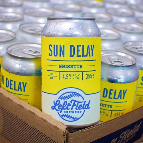 Sun Delay – Left Field Brewery