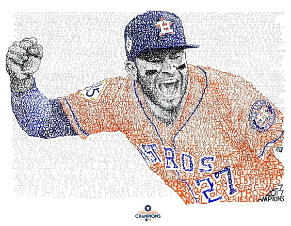 Jose Altuve – Dan Duffy, Art of Words