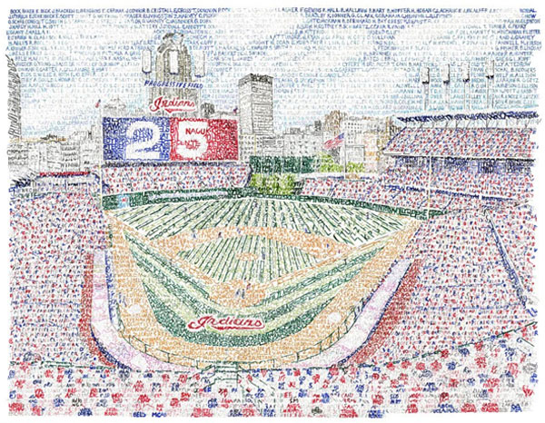Progressive Field – Dan Duffy, Art of Words