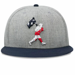 Baseballism: Flag Man Freedom Cap 2.0