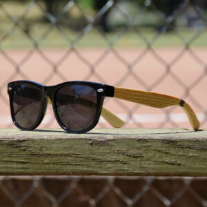 Baseballism: Baseball Bat Grain Sunglasses