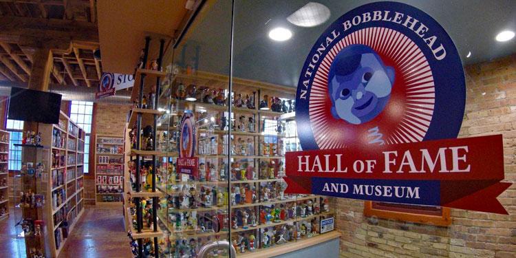 Bobblehead Museum Entry