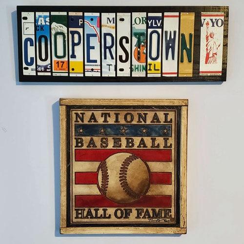 Cooperstown Artwork