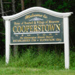 Welcome to Cooperstown Sign