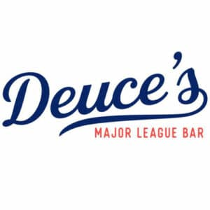 Deuce's Major League Bar logo