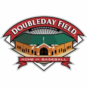 Doubleday Field in Cooperstown logo