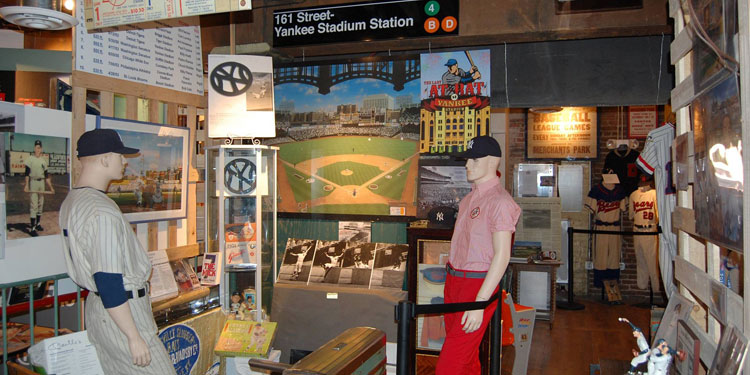 National Ballpark Museum exhibit