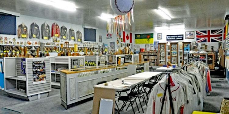Saskatchewan Baseball Hall of Fame Exhibit