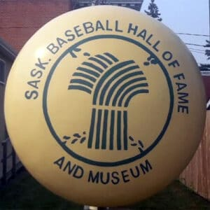 Saskatchewan Baseball Hall of Fame and Museum logo