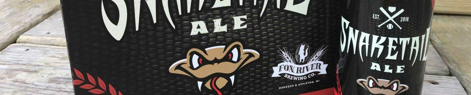 Snaketail Ale – Fox River Brewing header