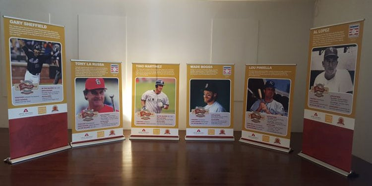 Tampa Baseball Museum Exhibit
