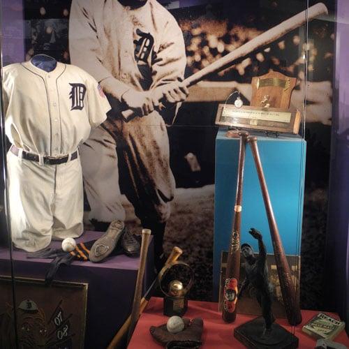 Ty Cobb Museum baseball artifacts