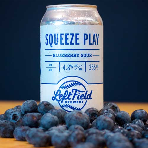 Squeeze Play Blueberry - Left Field Brewery