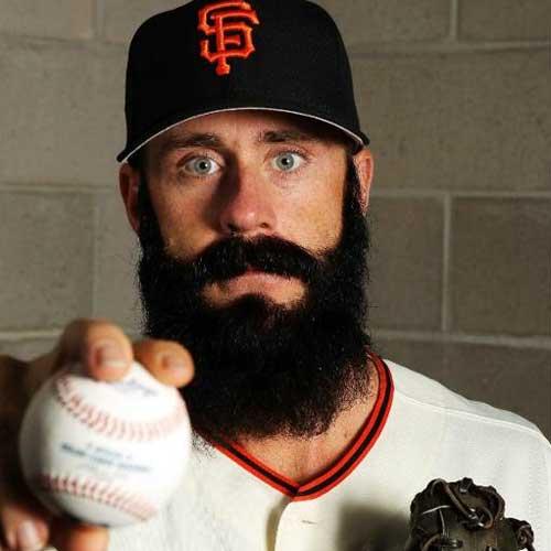Brian Wilson, San Francisco Giants: Fear the Beard
