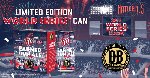 Earned Run Ale – 2019 World Series Edition
