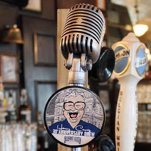 Harry Carey 30th Anniversary Brew by Burnt City Brewing