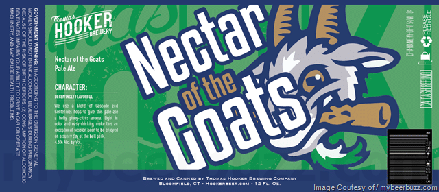 Nectar of the Goats Pale Ale label