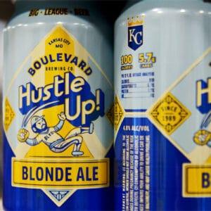 Hustle Up! Blonde Ale