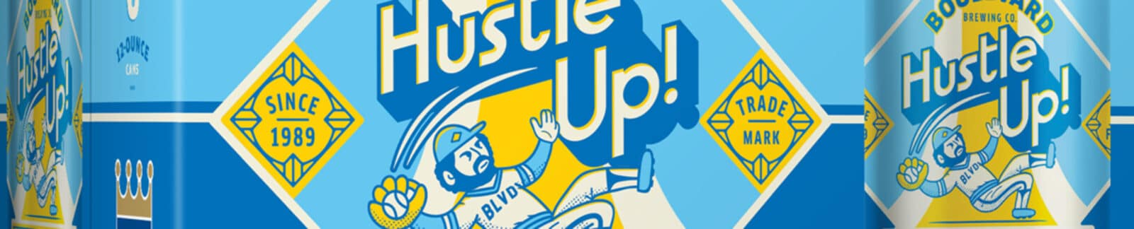 Hustle Up! Blonde Ale header